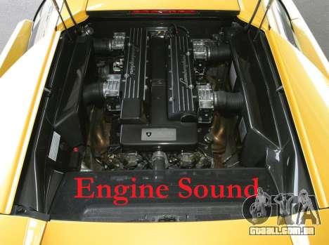 Som de motor Lamborghini Murcielago para GTA 4