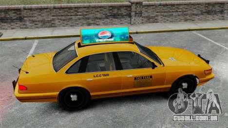 Real publicidade em táxis e autocarros para GTA 4 décimo tela