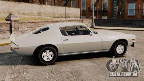 Chevrolet Camaro Z28 1970 v1.1 para GTA 4 esquerda vista