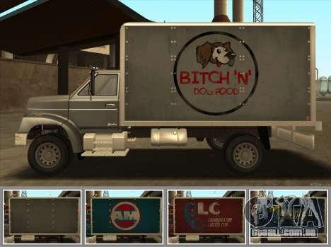 Yankee HD from GTA 3 para GTA San Andreas traseira esquerda vista
