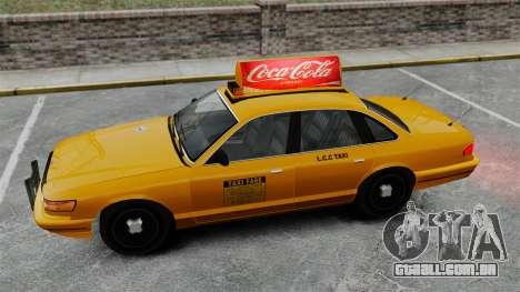 Real publicidade em táxis e autocarros para GTA 4 nono tela