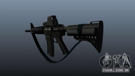 Carabina automática M4A1 para GTA 4 segundo screenshot