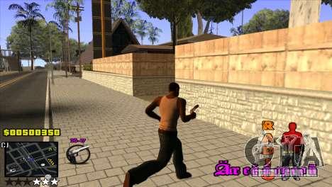 C-HUD Radio para GTA San Andreas terceira tela