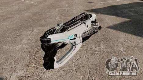 Arma Mass Effect v1 para GTA 4 segundo screenshot