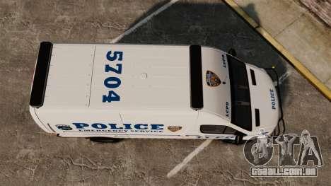 Mercedes-Benz Sprinter 3500 Emergency Response para GTA 4 vista direita