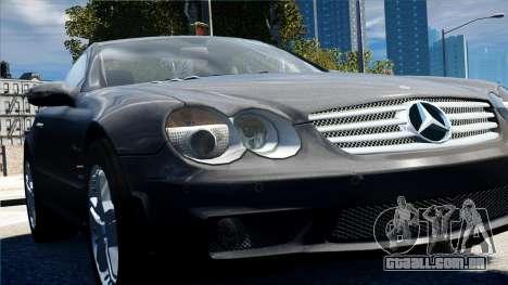 Mercedes-Benz SL65 2007 para GTA 4 vista de volta