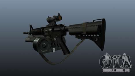 M4 automático C-Mag para GTA 4 segundo screenshot
