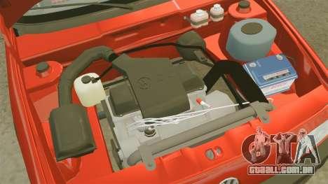Volkswagen Passat B3 1995 para GTA 4 vista interior