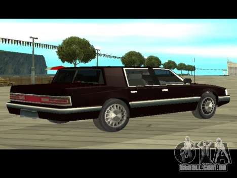 Willard HD (Dodge dynasty) para GTA San Andreas traseira esquerda vista