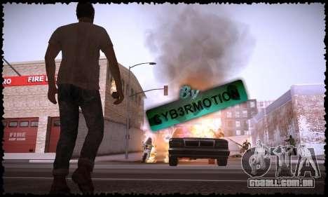 Trevor, Michael, Franklin para GTA San Andreas sexta tela
