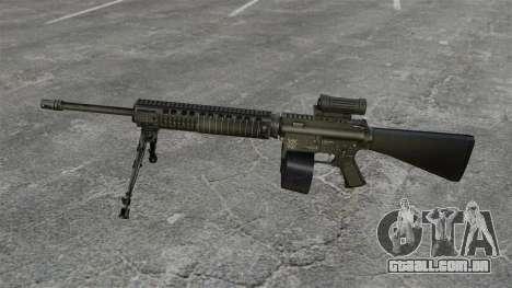 Fuzil M16A4 C-MAG escopo para GTA 4 terceira tela