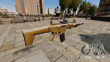 Rifle de assalto do SMALL BUSINESS SERVER 5,56 para GTA 4 segundo screenshot