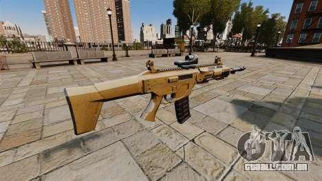 Rifle de assalto do SMALL BUSINESS SERVER 5,56 para GTA 4 segundo screenshot