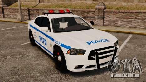 Dodge Charger 2012 NYPD [ELS] para GTA 4