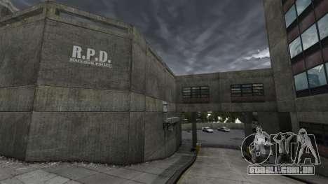 Delegacia de polícia de Raccoon para GTA 4 por diante tela