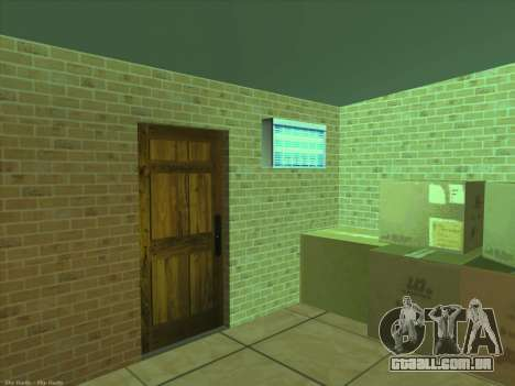 Novas texturas para interior para GTA San Andreas sexta tela