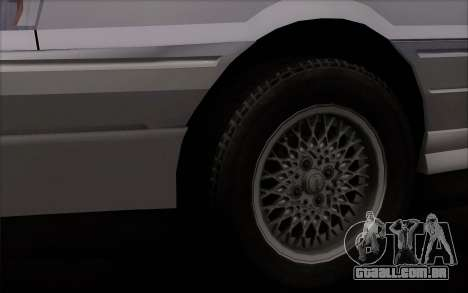 FSO Polonez Atu Orciari 1.4 GLI 16V para GTA San Andreas traseira esquerda vista