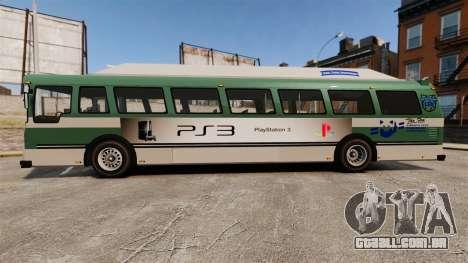 Real publicidade em táxis e autocarros para GTA 4 por diante tela
