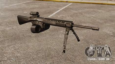 Fuzil M16A4 C-MAG escopo para GTA 4