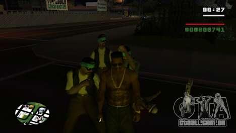 Brass Knuckles para GTA San Andreas sexta tela