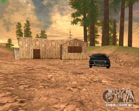 ENB Series for SAMP para GTA San Andreas sexta tela