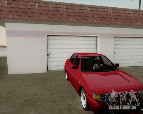 VAZ 2110 para GTA San Andreas vista traseira