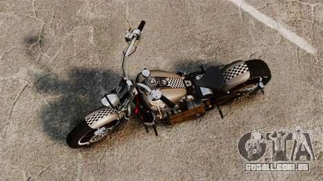 Harley-Davidson Knucklehead v2 para GTA 4 traseira esquerda vista
