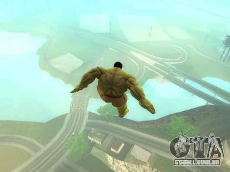 Salto de Hulk para GTA San Andreas