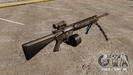 Fuzil M16A4 C-MAG escopo para GTA 4 segundo screenshot