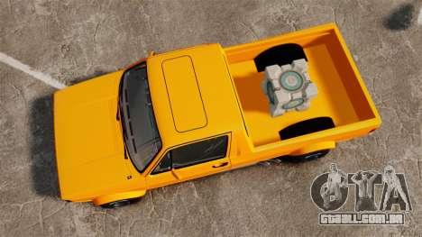 Volkswagen Caddy para GTA 4 vista direita