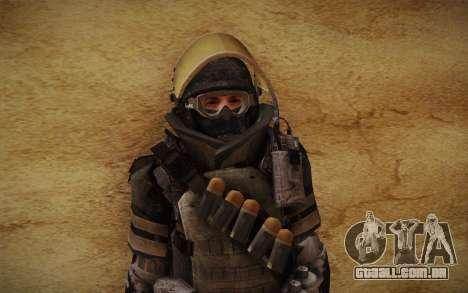 COD MW3 Heavy Commando para GTA San Andreas sexta tela