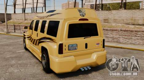 GMC Business superstar para GTA 4 traseira esquerda vista