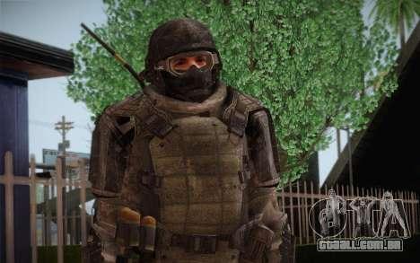COD MW3 Heavy Commando para GTA San Andreas segunda tela