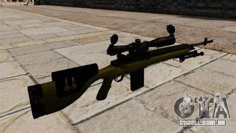 Cnajperskaâ rifle M14 DMR para GTA 4 segundo screenshot