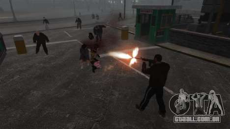 Novo Zombie-script para GTA 4 sexto tela