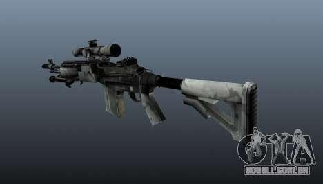 Rifle sniper M21 Mk14 v1 para GTA 4 segundo screenshot