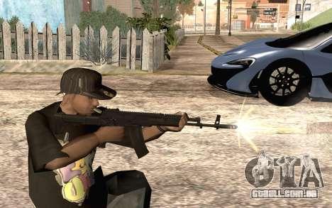 AK12 para GTA San Andreas por diante tela