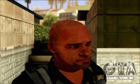 Sam de Far Cry 3 para GTA San Andreas terceira tela