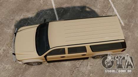 GTA V Declasse Granger 3500LX para GTA 4 vista direita
