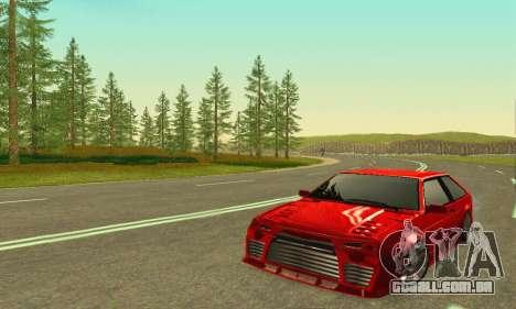 VAZ 2108 Aarr estilo para GTA San Andreas esquerda vista