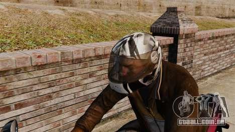Uma coleção de capacetes Arai v1 para GTA 4 quinto tela