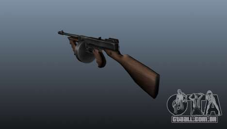 Pistola-metralhadora Thompson M1928 para GTA 4 segundo screenshot