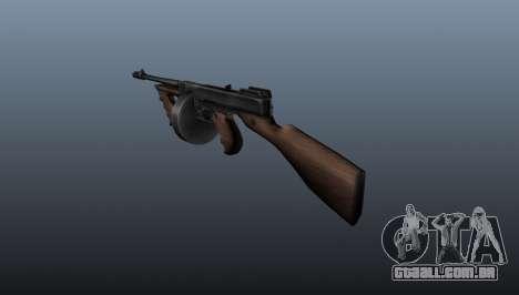 Pistola-metralhadora Thompson M1928 para GTA 4 segundo screenshot