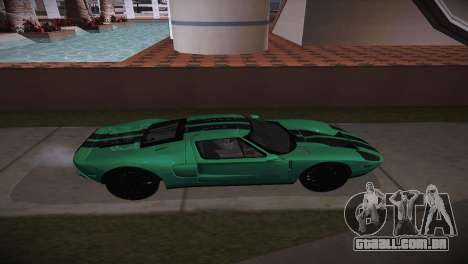 Ford GT TT Ultimate Edition para GTA San Andreas esquerda vista