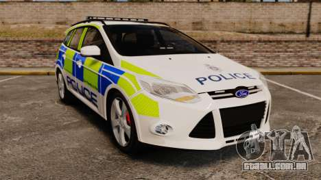 Ford Focus Estate Norfolk Constabulary [ELS] para GTA 4