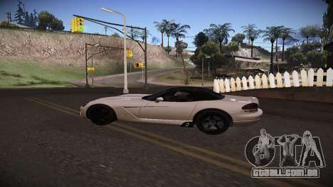 Dodge Viper SRT-10 Roadster para GTA San Andreas vista direita