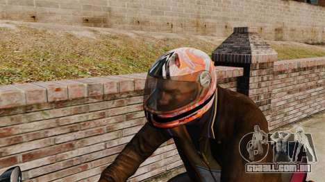 Uma coleção de capacetes Arai v1 para GTA 4 terceira tela