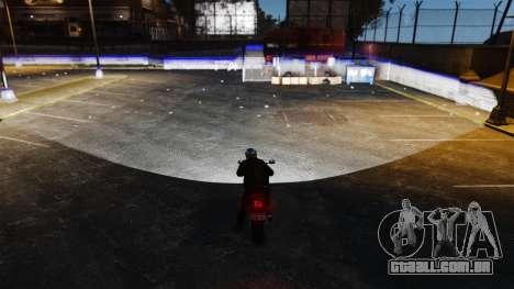 Novo v 1.2 de faróis de Xenon para GTA 4 segundo screenshot