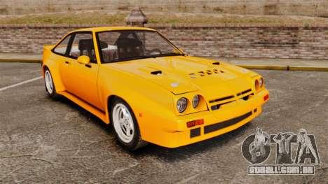 Opel Manta para GTA 4