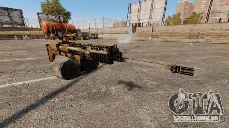 Fuzil de assalto SCAR LMG para GTA 4